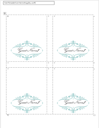 Place Setting Template Beauteous How To Make Your Own Place Cards For Free With Word And PicMonkey
