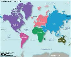 continents continents of the world how many continents are there