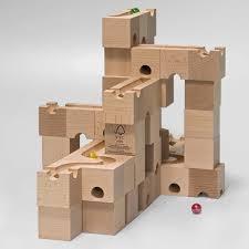 marble run wooden blocks designs