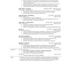 Film Resume Template Mesmerizing Simple Film Resume Template Templates Production Acting