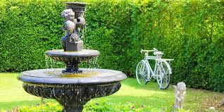 water features in the garden visit