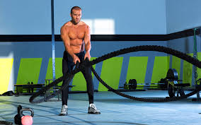 cardio for fat loss full body fat burn with battling ropes