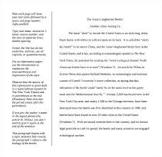 Examples Of Format Essays For Essay Papers Outline Example In