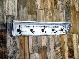 shelf wall mounted coat hooks