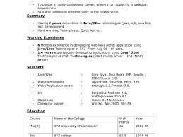Software Engineer Resume Sample Cover Letter For Java Developer Example Software Resumele Years 90