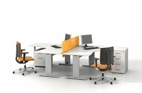 office cubicles design. Smart And Exciting Office Cubicles Design Ideas : Fabulous Fabric Cubicle With Thin Orange L