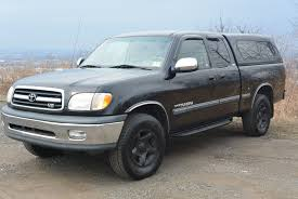 2000 Toyota Tundra 4wd V8 Extended Cab - Black - Clean Solid Frame ...