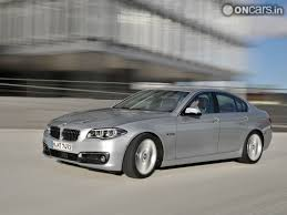 new car launches october 20132014 BMW 5Series Facelift to launch in India on 10 October 2013