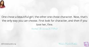 Quotes About Choosing Love Adorable William Marrion Branham Quote About Character Choose Love
