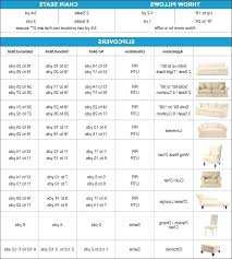 Yardage Chart Fabric Yardage Calculator For Cushions