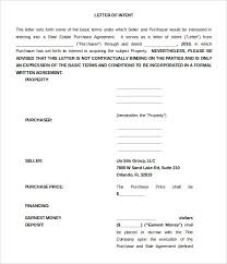 letter of intent purchase real form Fill Online  Printable     Sample Templates