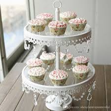 Cookie Display Stand Glass Cake Stand 100 Tier White Iron Cany Cookie Display Tray Table 29