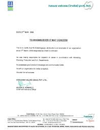 Experience Letter Format For Civil Engineer Copy 12 Experience