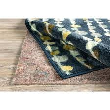 home premium felted dual surface rug pad felt 8x10