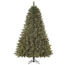 7.5ft Pre-Lit Cashmere Mixed Pine Artificial Christmas Tree with  Multi-Colored Lights