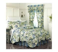 blue toile duvet cover belle bedding tower twin full queen navy light