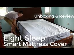 smart mattress cover. Unique Smart Eight Sleep Smart Mattress Cover Unboxing  Setup Review And App Walk  Through For A