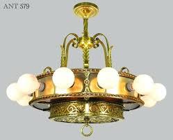 1930s chandelier vintage hardware lighting antique bare bulb light chandelier ceiling fixture ant 1930s tudor chandelier
