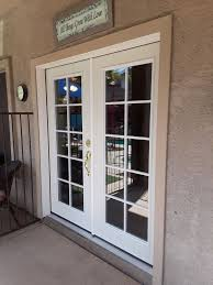 upgrade to a new double french door or sliding glass door
