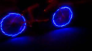 Orange Wheel Lights Led Bicycle Wheel Lights Beach Cruiser 2 Color Blue
