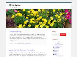 word theme download wordpress clean word child theme free download