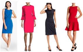 8 sheath dresses