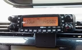 tyt th9800 m0yng tyt th 9800 mounted in my car