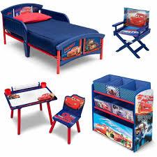 Lightning Mcqueen Bedroom Accessories Disney Cars Room In A Box With Bonus Chair Walmartcom