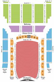Lyric Arts Seating Chart 2019