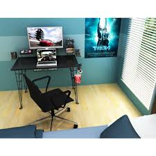 atlantic black gaming desk