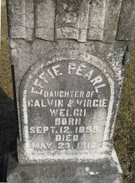 Effie Pearl Welch (1899-1918) - Find A Grave Memorial