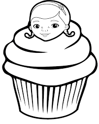 Small Picture Cupcake Coloring Page 4 cupcake sweets Pinterest Adult coloring