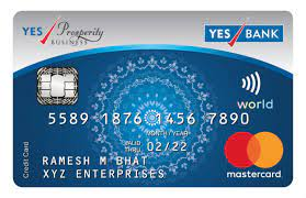 You can redeem all the reward points earned through yes prosperity rewards plus credit card on the official website of yesrewardz. Yes Prosperity Rewards Plus Credit Card Credit Card India