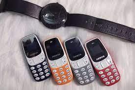 Điện thoại Nokia 3310 BM10 mini - 2 sim - Chính Hãng Nokia - Tặng phụ kiện  | Điện thoại phổ thông
