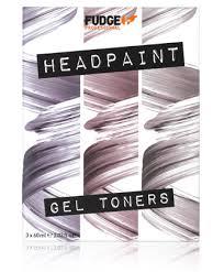 Fudge Professional Headpaint Gel Toners Professional