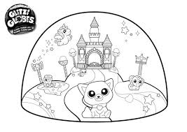Shopkins Coloring Pages Free Coloring Book Snow Crush 708 Get