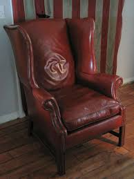 Leather Wingback Chair For Sale On The Eye Used Leather Wingback Chairs For Sale Leather Chair
