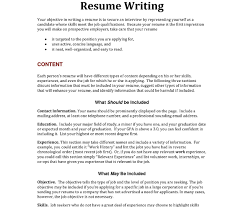 How Many Jobs To List On Resume List Of Resume Objectives Sample Career Examples For Teachers 49