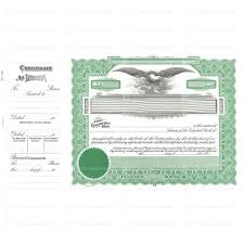 Stock Certificats Capital Stock Certificates Goes 196 Stock Certificate