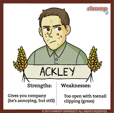 Catcher In The Rye Quotes Stunning Ackley In The Catcher In The Rye
