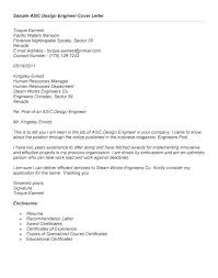 Cover Letter For Design Engineer Mechanical Sample Hardware Engineer