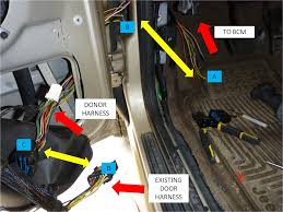 2004 jeep grand cherokee driver door wiring harness 2004 1999 2004 wj driver door boot wiring fix diy jeepforum com