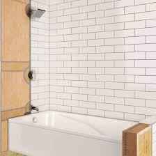 magic 3022 white tub shower splash guard 2 count 70048197222