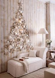 white silver wall decoration