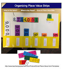 What A Great Idea For Place Value 1 Using A Folder To Make