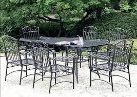wrought iron patio table rectangular wrought iron patio table rectangular inspirational