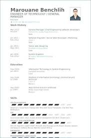 Marine Chief Engineer Resume Sample