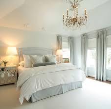 traditional master bedroom blue. Blue Bedskirt Traditional Master Bedroom