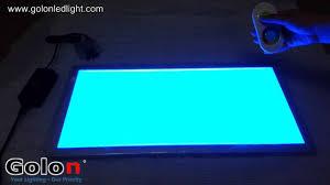 Rgb Led Panel Light Rgb Led Panel Lights From Shenzhen China Manufacturer Youtube