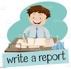 レポートのフラッシュ カードを書く - 1人のベクターアート素材や画像を多数ご用意 - iStock